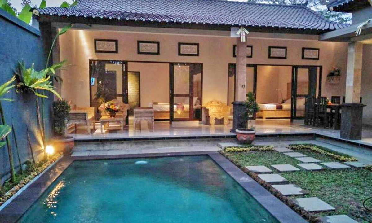 Cozy villa in Ubud for sale-1